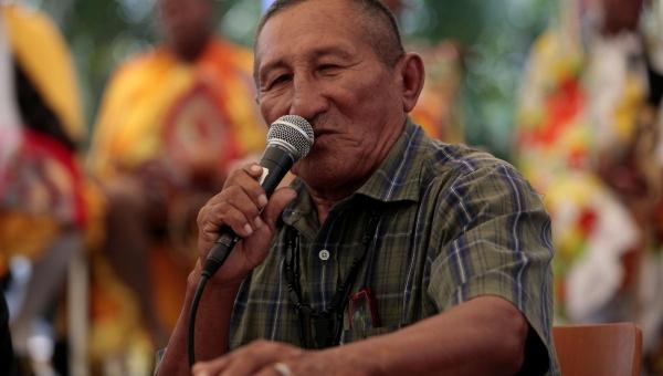 Mapoyo leader, Simón Bastidas (AVN)