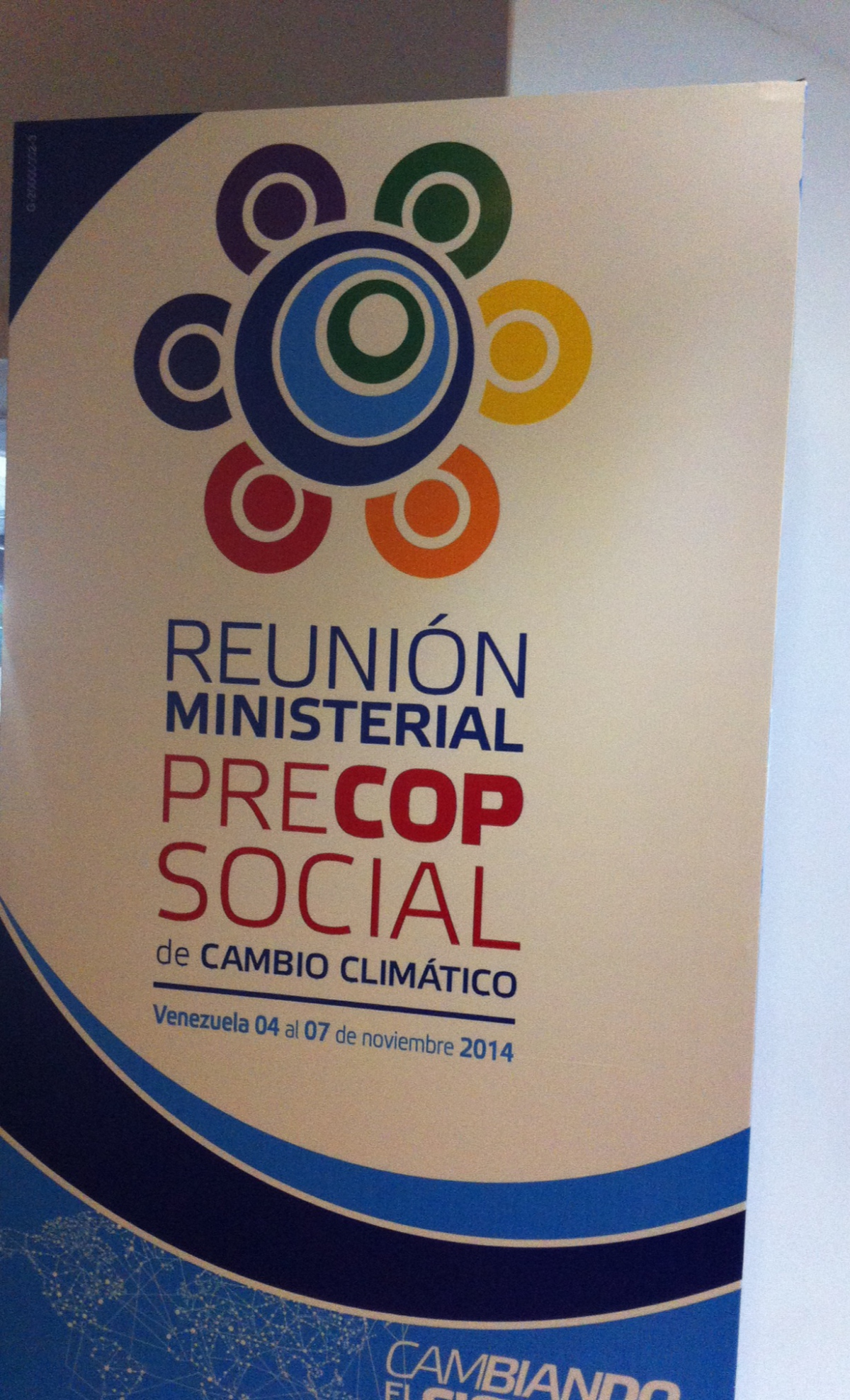 Representatives of civil society meet with government ministers to discuss climate change policy at the second social PreCOP meeting held on Margarita Island in Venezuela, November 4-7.  (Cory Fischer-Hoffman, Venezuelanalysis.com)