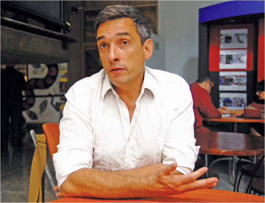 Raul Zelik (Photo: José Avelino Rodrigues)