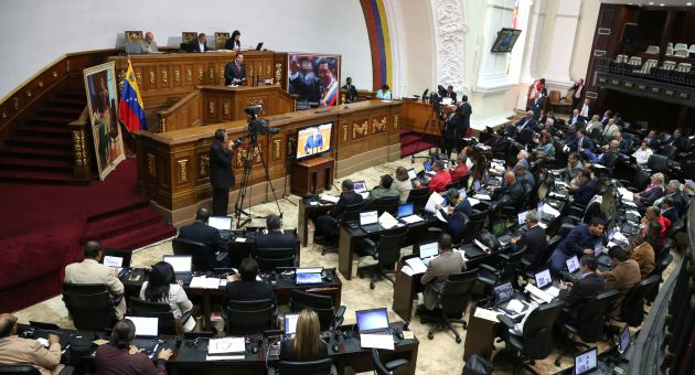 The Venezuelan National Assembly began the task of renewing the state's public powers today, despite the opposition's abstention from the key parliamentary votes. (AVN)