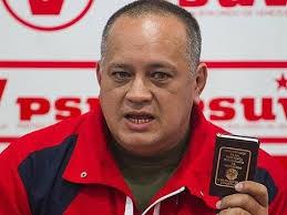 Diosdado Cabello (PHOTO:Archives)