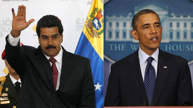 Just as US Relations with Cuba improve, the US approves sanctions against Venezuela.  (PHOTO: EFE)