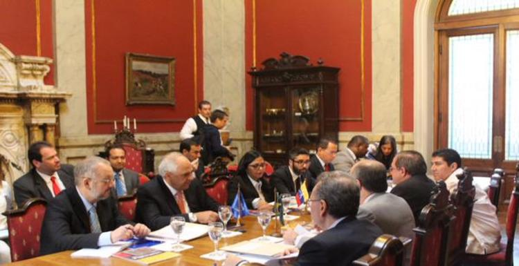 The special commission met in Montevideo on Monday. (Photo: Twitter/UNASUR)