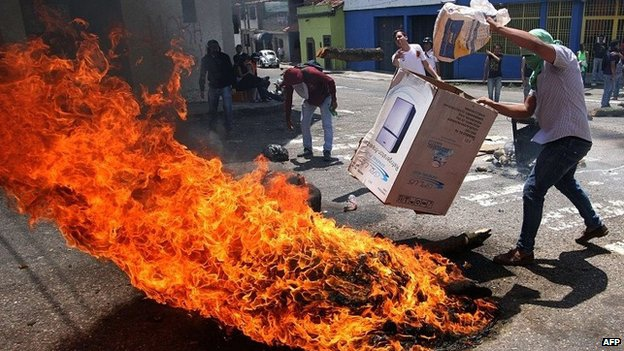 The state of Tachira was the birthplace of last year's protests (AFP)