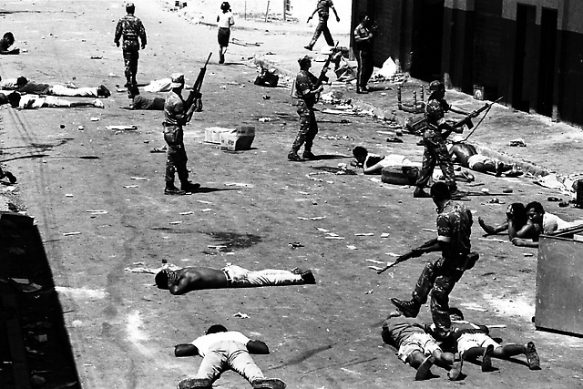 The armed forces massacred thousands of people on February 27th 1989 (Archives United Socialist Party of Venezuela)
