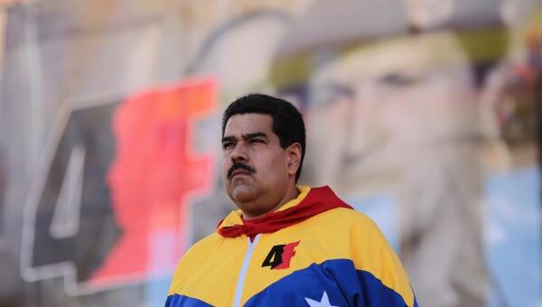 Venezuelan President Nicolas Maduro in Caracas