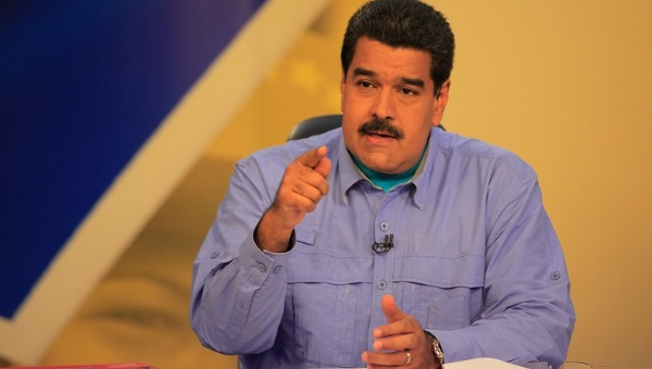 Venezuelan President Nicolas Maduro announced the creation of the new Ministry of Eco-socialism and Water during his weekly television program, March 24, 2015 (Photo: AVN)