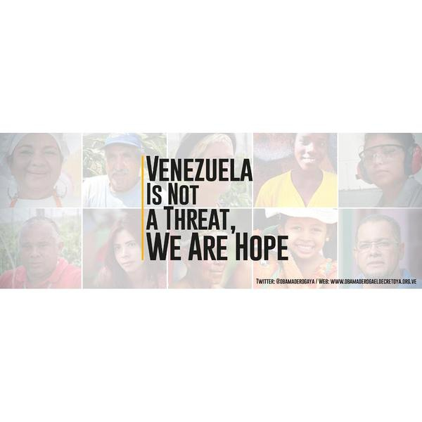 Image from the official Venezuelan petition site Obamaderogaeldecretoya.org.ve