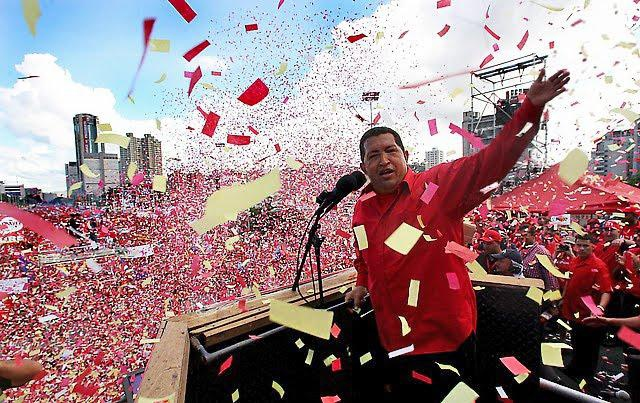 For the first time in Venezuelan history a man from the country's poor, black and brown majority came to power and sought to transform the country on their behalf.