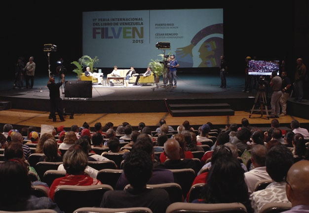 Poetry recitals, political seminars and book launches were some of the many activities which made up FILVEN´s two week program of events (Ministerio de Poder Popular para Cultura)