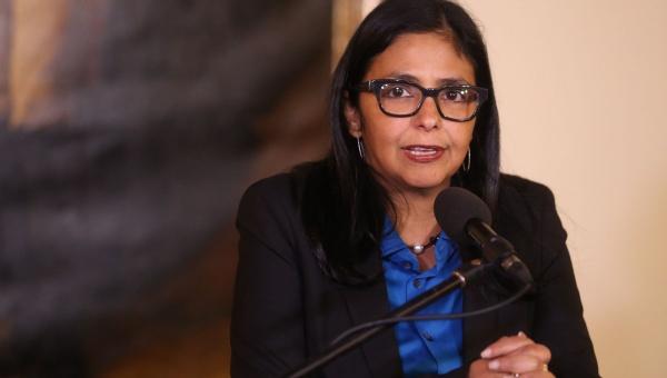 Venezuelan Foreign Minister Delcy Rodriguez. (AVN)