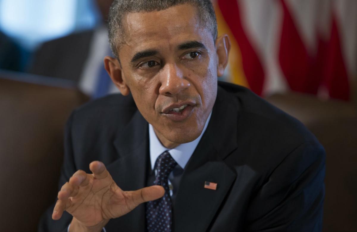 US President Barack Obama (Evan Vucci/AP)