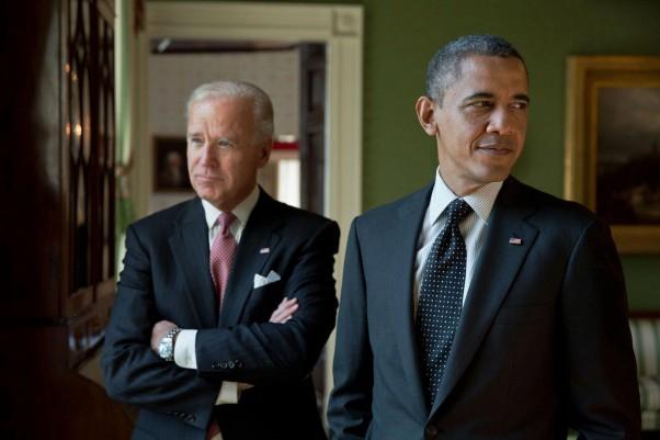 US President Barack Obama with Vice President Joe Biden. (Photo: Official White House photographer Pete Souza)