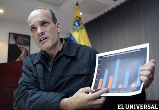 Venezuela's Vice-President of Planning Ricardo Menendez outlined the plans on Monday. (AVN)