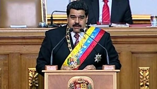 """Maduro has accused Madrid of leading a """"constant attack"""" against Venezuela (telesur)"""