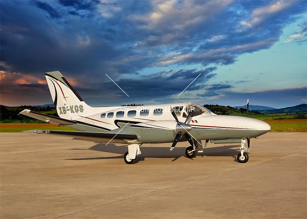 The Cessna Conquest 441 XB-KGS crashed in the Venezuelan state Cojedes last Thursday. (www.controller.com)