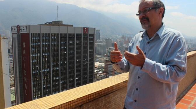 Venezuela's new Minister of Eco-socialism, Guillermo Barreto (HidroVen)