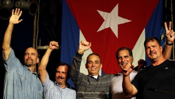 The Cuban Five are heroes in Cuba for their attempt to stop terror attacks from Miami. (Credit: Embassy of Cuba in Venezuela)