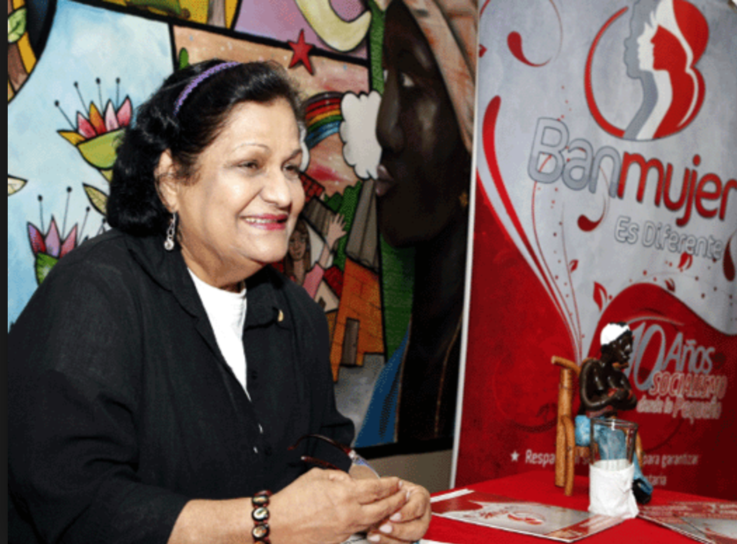 Nora Castañeda was one of Venezuela's most celebrated feminist activists (PSUV)
