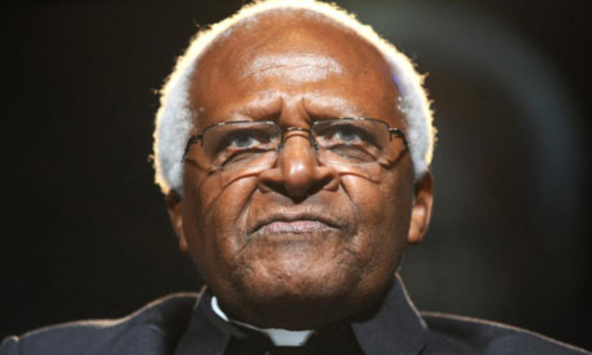 South African Archbishop Desmond Tutu (Zak Hussein/PA)