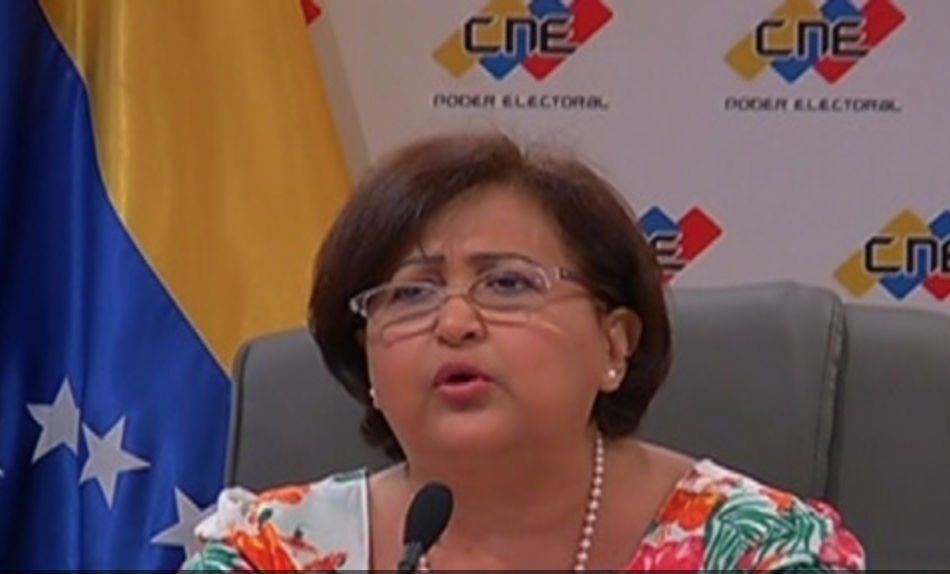 CNE President Tibisay Lucena silences rightwing rumors that elections would not be held this year. (teleSUR)