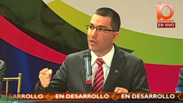 Vice President Jorge Arreaza said the new four year plan will deepen the government's efforts to promote human rights. (teleSUR)