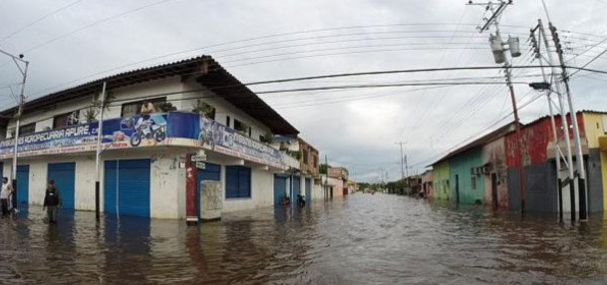 The floods are the worst to have hit the region in years (AVN)