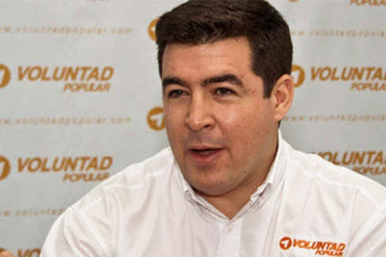 Hard right opposition leader Daniel Ceballos (archive)