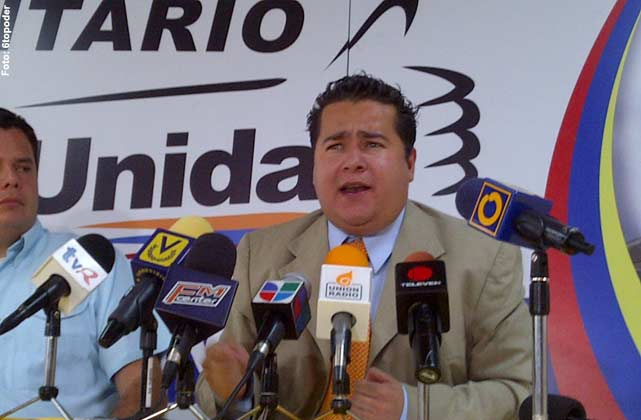 Ricardo Sanchez once formed part of the opposition party Un Nuevo Tiempo (A New Time), made popular by Maria Corina Machado. (Photo: VTV)