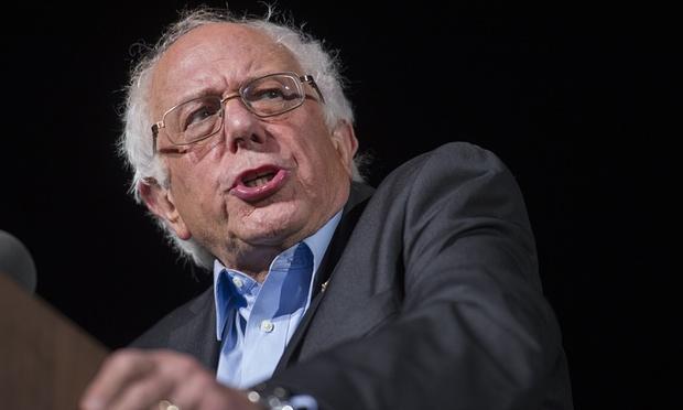 Democratic presidential candidate Bernie Sanders. (Photograph: Cliff Owen/AP)