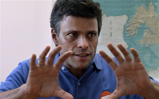 Leopoldo Lopez (AFP/Getty)