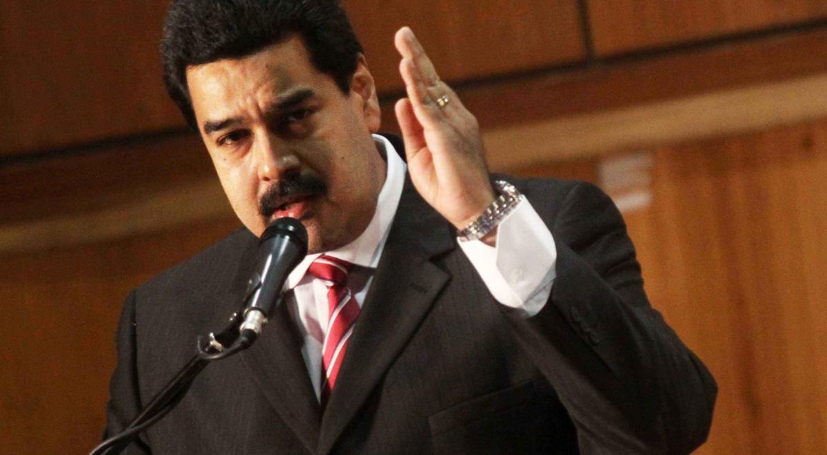 Venezuelan President Nicolas Maduro (Xinhua/Presidential Press)