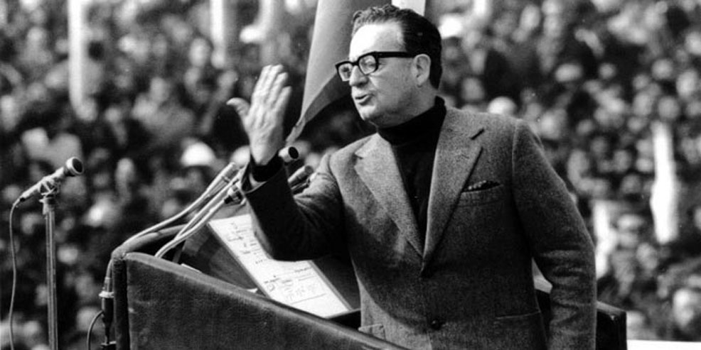 Caption: Chilean Socialist President Salvador Allende, overthrown in a US-sponsored military coup on September 11, 1973 (archive)