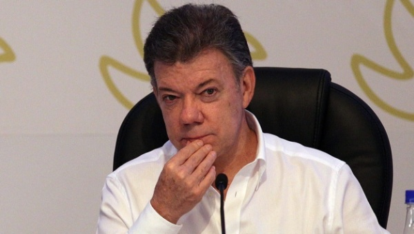 Colombian President Juan Manuel Santos (Photo: EFE)