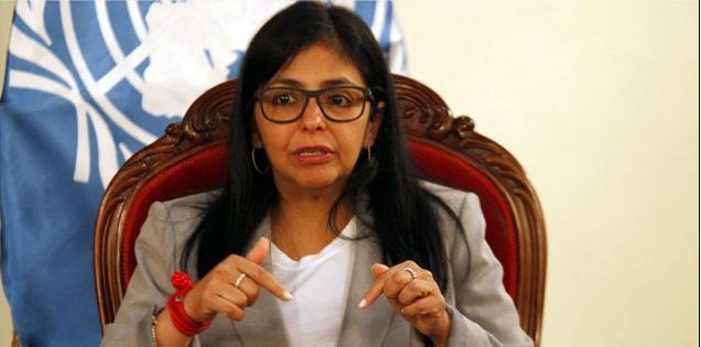 Venezuelan Foreign Minister Delcy Rodriguez (AVN)