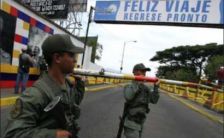 The Venezuela-Colombia border in the state of Amazonas is the fourth to have been closed since the attack in August (Photo: Telesur).