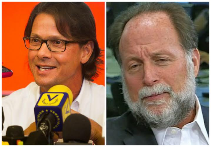 Billionaire Lorenzo Mendoza (left) and economist and former Planning Minister, Ricardo Hausman (right) (Aporrea).