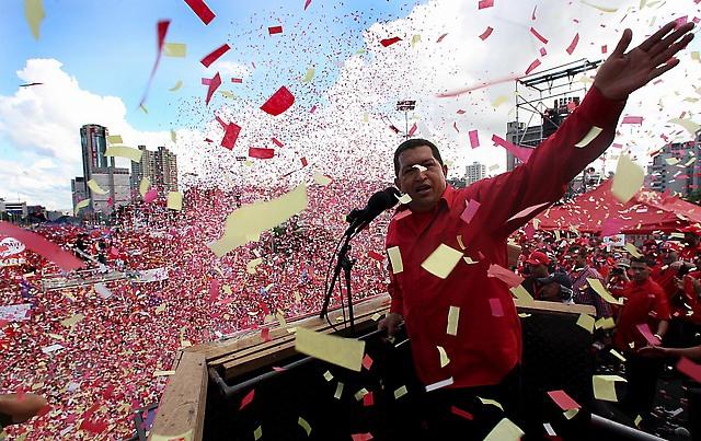 late Venezuelan President Hugo Chávez Frías