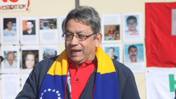 Nelson Davila, Venezuelan ambassador to Australia (telesur)