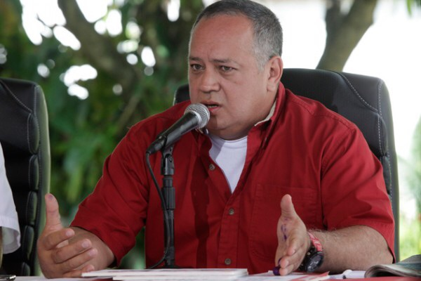 "The President of Venezuela's National Assembly, Diosdado Cabello, lambasts the DEA for ""kidnapping"" the two young men (Correodelorinoco)."