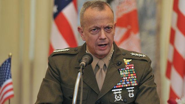 Caption: US General John Kelly, chief of SOUTHCOM. (AFP)