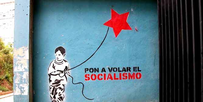 """Make socialism fly""."