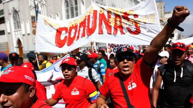 The parliament will work to channel the voices of the commune movement into the Venezuelan legislature (UltimasNoticias)