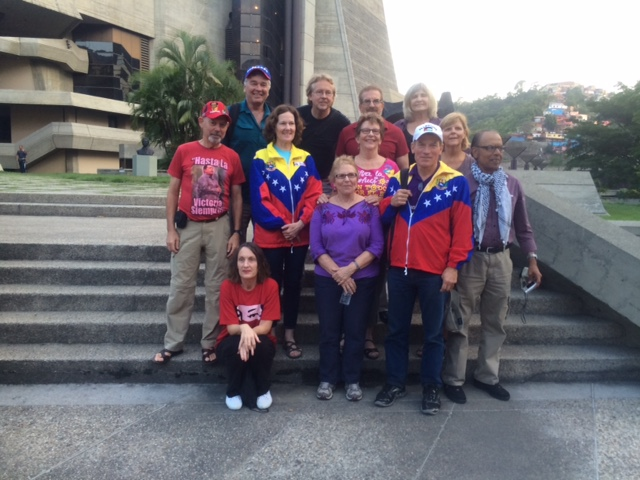 The US delegation arrived in Caracas on Tuesday. (Teri Mattson)