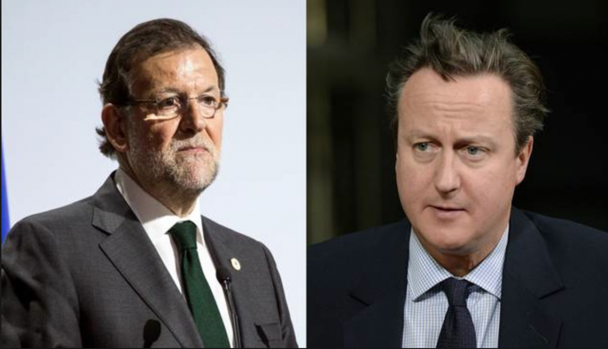 UK Prime Minister David Cameron and Spanish Prime Minister Mariano Rajoy both signed the letter (El Nuevo Herald).