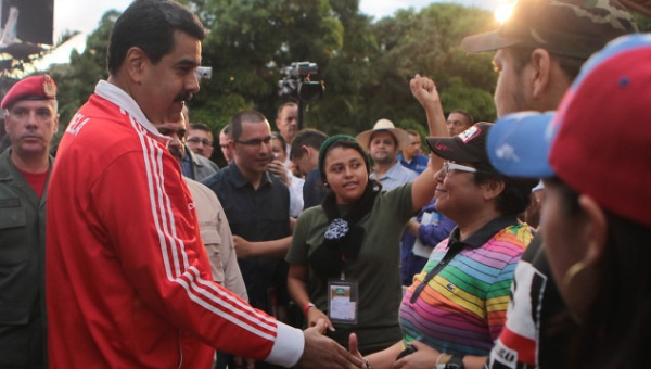 Activist groups argued sexual diversity rights should be a key priority of Venezuela's socialists. (Prensa Presidencial)