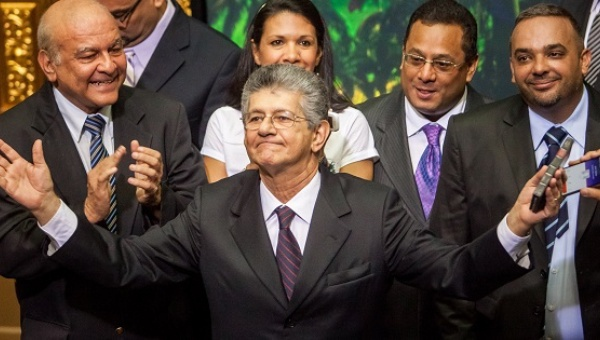 New President of the Venezuelan National Assembly, Henry Ramos Allup. (EFE)