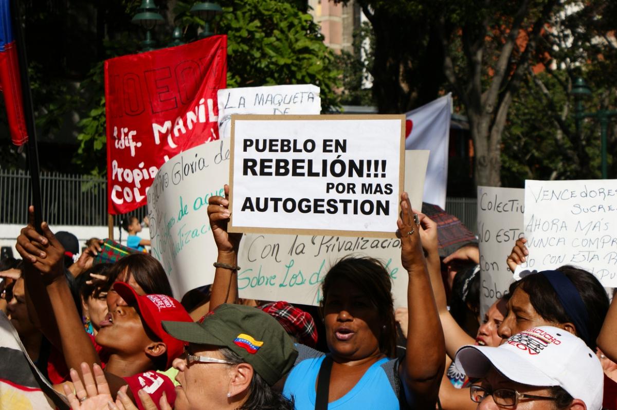 """People in rebellion! More self-management"" (Jonas Holldack - Venezuelanalysis)"