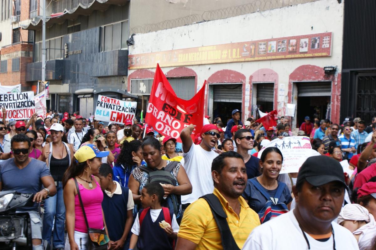 """The Great Housing Mission isn't a given!"" (Jonas Holldack - Venezuelanalysis)"