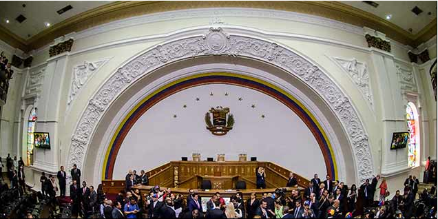 Venezuela's National Assembly has been declared void by the country's Supreme Court (EFE)